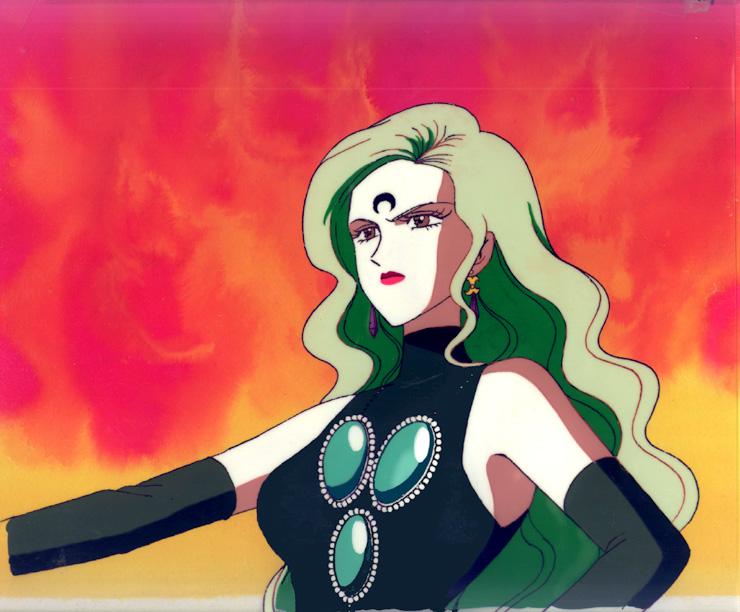 jasmine u0026 39 s black moon villain cels